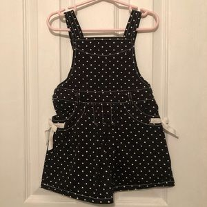 🏷 Girls Polkadot Overall Dress